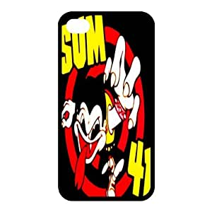 Rock Band Style BlackIphone 4/4S SUM 41 For Iphone 4/4S