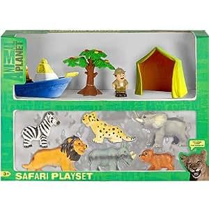Amazon Com Animal Planet Soft Wild Animal Playset