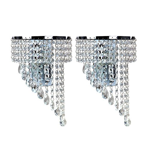 Fuloon Crystal Fashion Hallway White 2