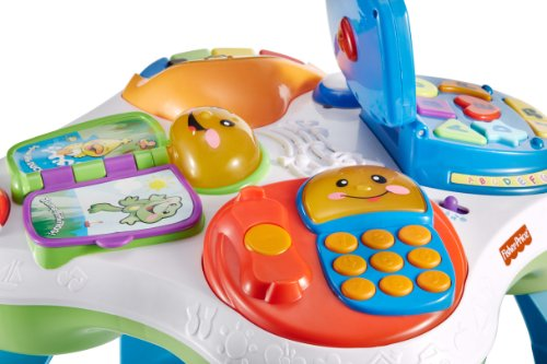 Fisher price laugh learn fun with friends musical table activity center buy online in uae - Table activite fisher price ...