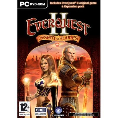 Everquest II Original Game + Desert of Flames expansion pack UK Package