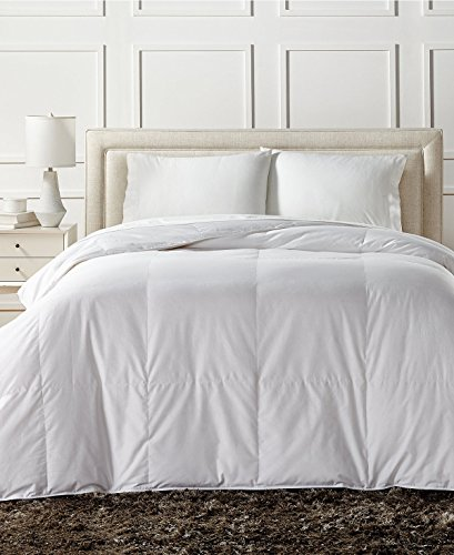 - Charter Club European White Down Light Weight Full Queen Comforter - Hypoallergenic, UltraClean