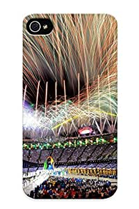 (13a92413994)durable Protection Case Cover With Design For Iphone 4/4s(olympics Stadium Fireworks Celebration Fire People ) by kobestar