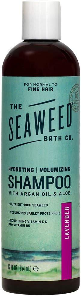 Seaweed Bath Company Argan Shampoo Lavender Amazon Co Uk Beauty