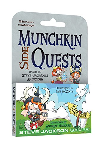 Steve Jackson Games SJG4264 Munchkin Side Quests Games