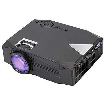 Proyector WiFi, Proyector De Video Portátil con TV Analógica Y ...