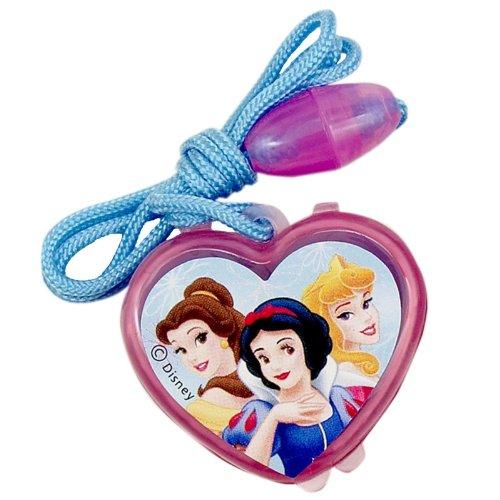 4 Disney Princess Lip Gloss Necklaces