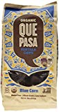 Que Pasa Organic Tortilla Chips, Blue, 16 Ounce