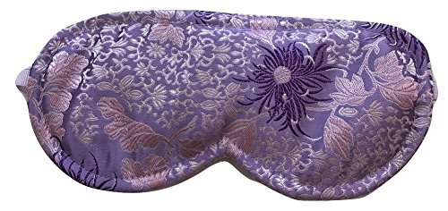 Sonoma Lavender Chrysanthemum Silk Sleep Mask by Sonoma