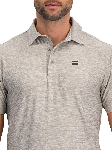 1e2f4582b ... Jolt Gear Golf Shirts for Men - Dry Fit Short-Sleeve Polo, Athletic  Casual ...
