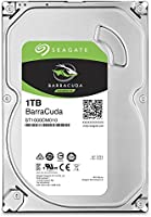 Seagate Barracuda Sata 6GB/s 64MB Cache 3.5 pulgadas 7mm Disco Duro Interno ST1000DM010, 1 TB para De escritorio