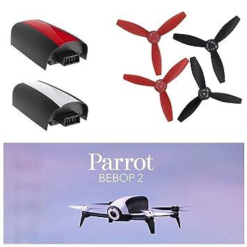 htfrgeds 11.1V 21.6A Baterías Lipo Baterías 750mAh para Parrot ...