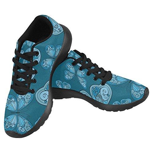 InterestPrint Womens Jogging Running Sneaker Go Easy Walking Casual Comfort Sports Running Shoes For Women Multi 9
