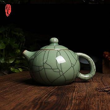Tea Set-Teekanne Porzellan Tee Teekanne Ge Yao Pflaume Grüner Draht ...