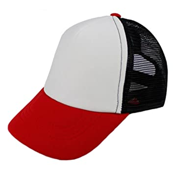 7faec4a212c70 Children Baseball Cap Mesh Hat Fitted Cap Sports Caps