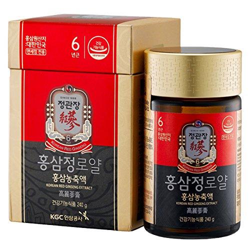 KGC Cheong Kwan Jang Korean 6years Red Ginseng Extract Royal 240 gram