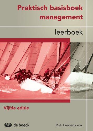 Amazon.com: Praktisch basisboek management - leerboek (Dutch ...