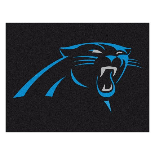FANMATS NFL Carolina Panthers Nylon Face All-Star Rug