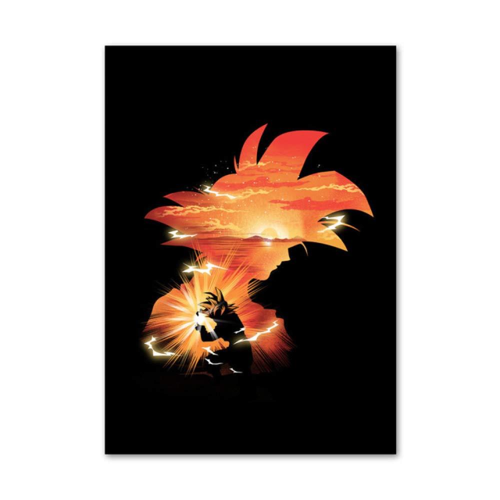 zxddzl HD Dragon Ball Ninja Cartoon Comic Poster Pintura de ...