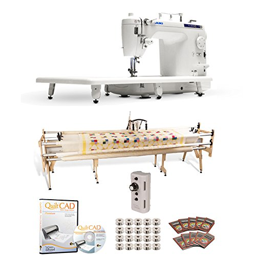 Juki TL-2010Q Long Arm, Grace SR-2+ Quilting Frame, Speed Control & QuiltCAD by JUKI