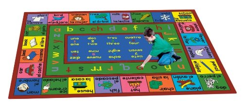 Amazon.com: Joy Carpets LenguaLink Spanish Kids Area Rug: Kitchen & Dining