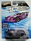 Hot Wheels Speed Machines Panoz GTR-1 Purple 1:64 Scale