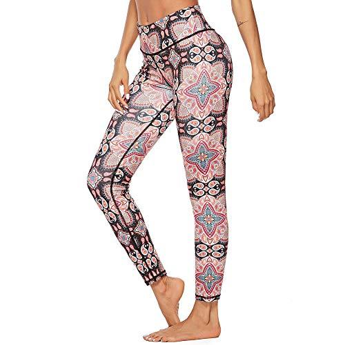 ef2805daad01b WOCACHI Leggings for Womens, Women Workout Print Leggings Fitness Sport Gym  Yoga Athletic Pants Side