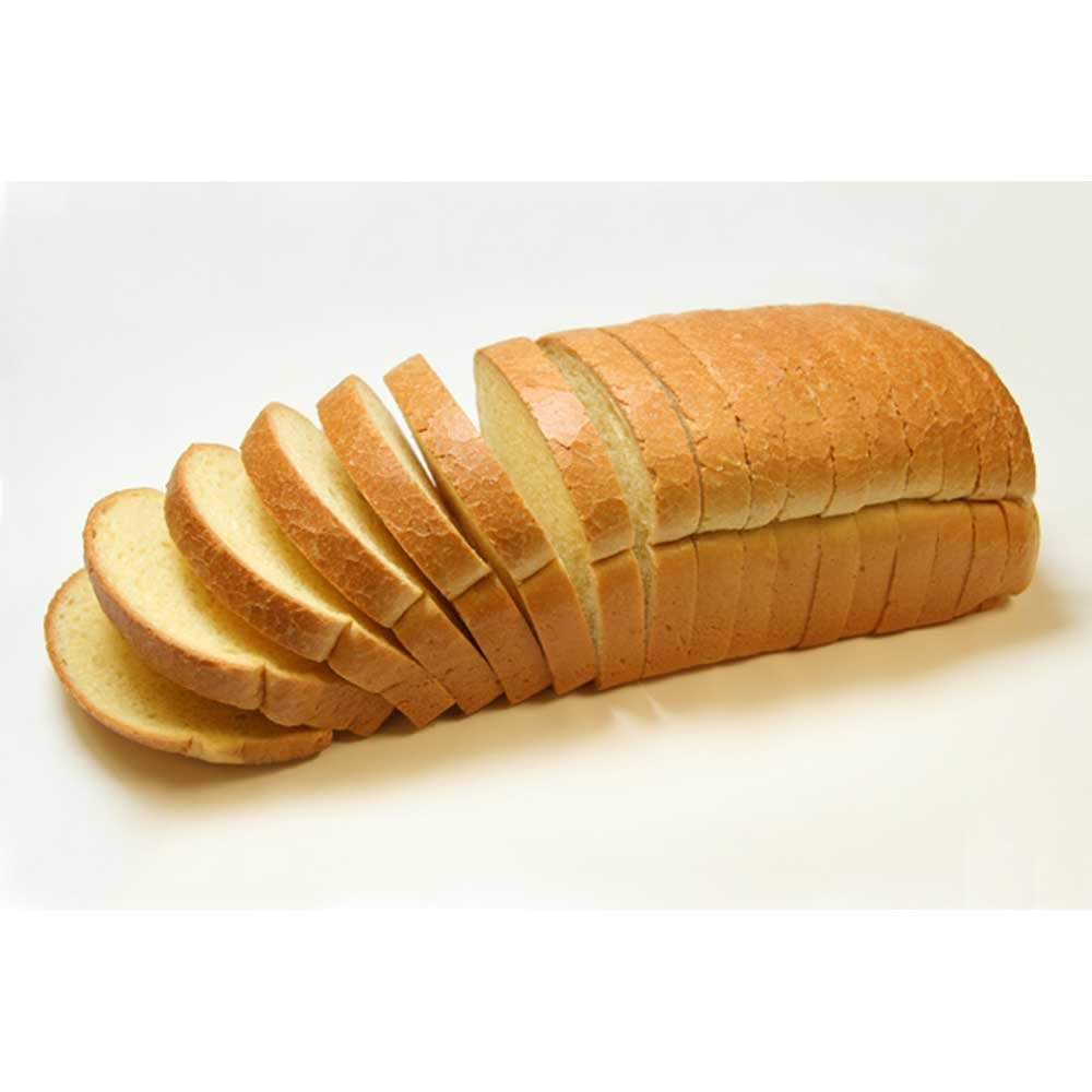 Rotellas Specialty Yellow French Toast Bread Loaf, 3/4 inch Slice - 6 per case.
