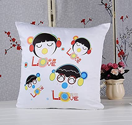 Wholesale White Sublimation Blank Pillow Covers 16inx16in Fashion
