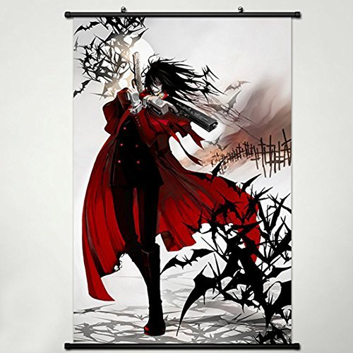 Hellsing Wall Scroll Poster Fabric Painting For Anime Alucar