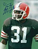 Autographed Frank Minnifield 8x10 Cleveland Browns Photo