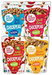 The Good Bean Chickpeas, Variety Pack, G...