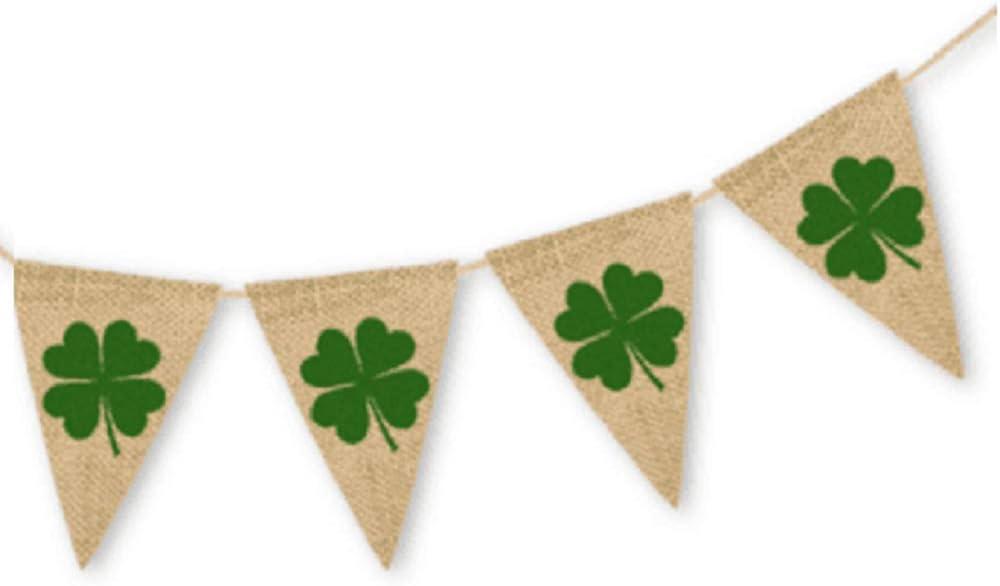 St Patrick\u2019s Day Shamrock Earrings