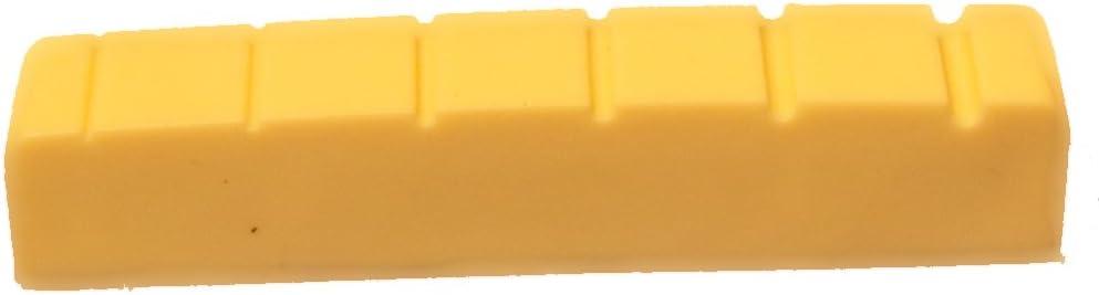 43mm Grafito compuesto para guitarra de 6cuerdas tuerca en blanco, negro o marfil, beige