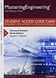 MasteringEngineering with Pearson EText -- Standalone Access Card -- for Structural Analysis 9th Edition