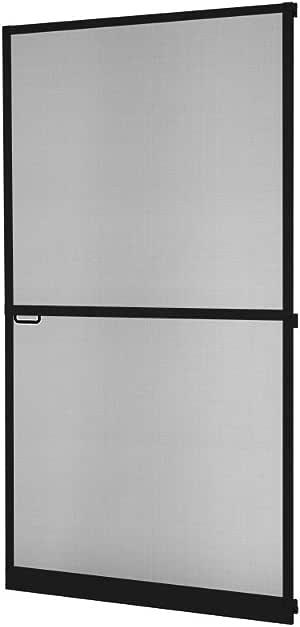 marr/ón o anthracite 100 x 210 cm Antracita kit de bricolaje Protecci/ón Insectos Tela Mosquitera Puerta Marco aluminio Master SLIM Corte a blanco