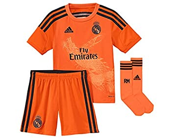 a8b66b3b2 adidas Performance Real Madrid 3 nbsp Goal Keeper Minikit Football  Goalkeeper T-shirt Orange For