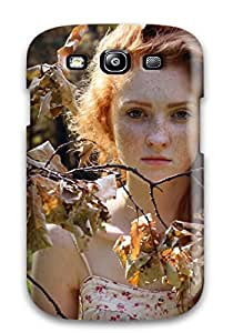 New Style ZippyDoritEduard Autumn Fairy Branches Leafs Rust Freckles Redhead Trees People Women Premium Tpu Cover Case For Galaxy S3