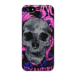 Shockproof Hard Phone Cases For Iphone 5/5s (rQi2245ULLH) Custom Trendy Asking Alexandria Skin