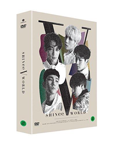 Price comparison product image SHINEE - [Shinee World V In Seoul] DVD 2 Disc+Special Photobook+Card K-POP Sealed Jonghyun