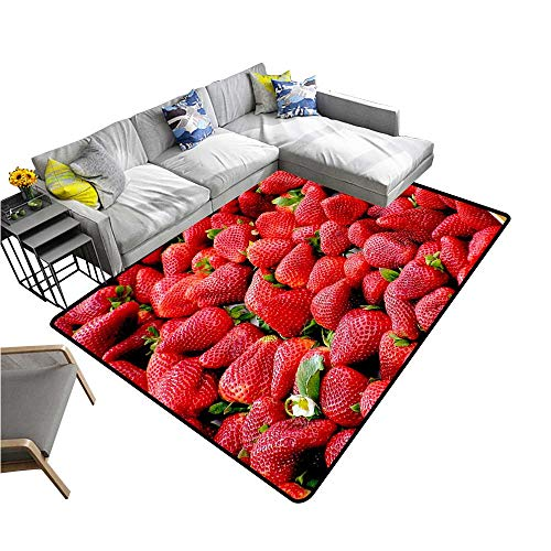 - Large Outdoor Door Mats Seductive Fresh Strawberry Use for Entrance Outside Doormat Patio W23 x H15 INCH