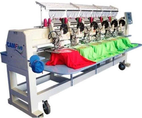 CAMFive CFHS-CT1506 10H 6 heads, 15 needle embroidery machine, free onsite installation & training and unlimited support
