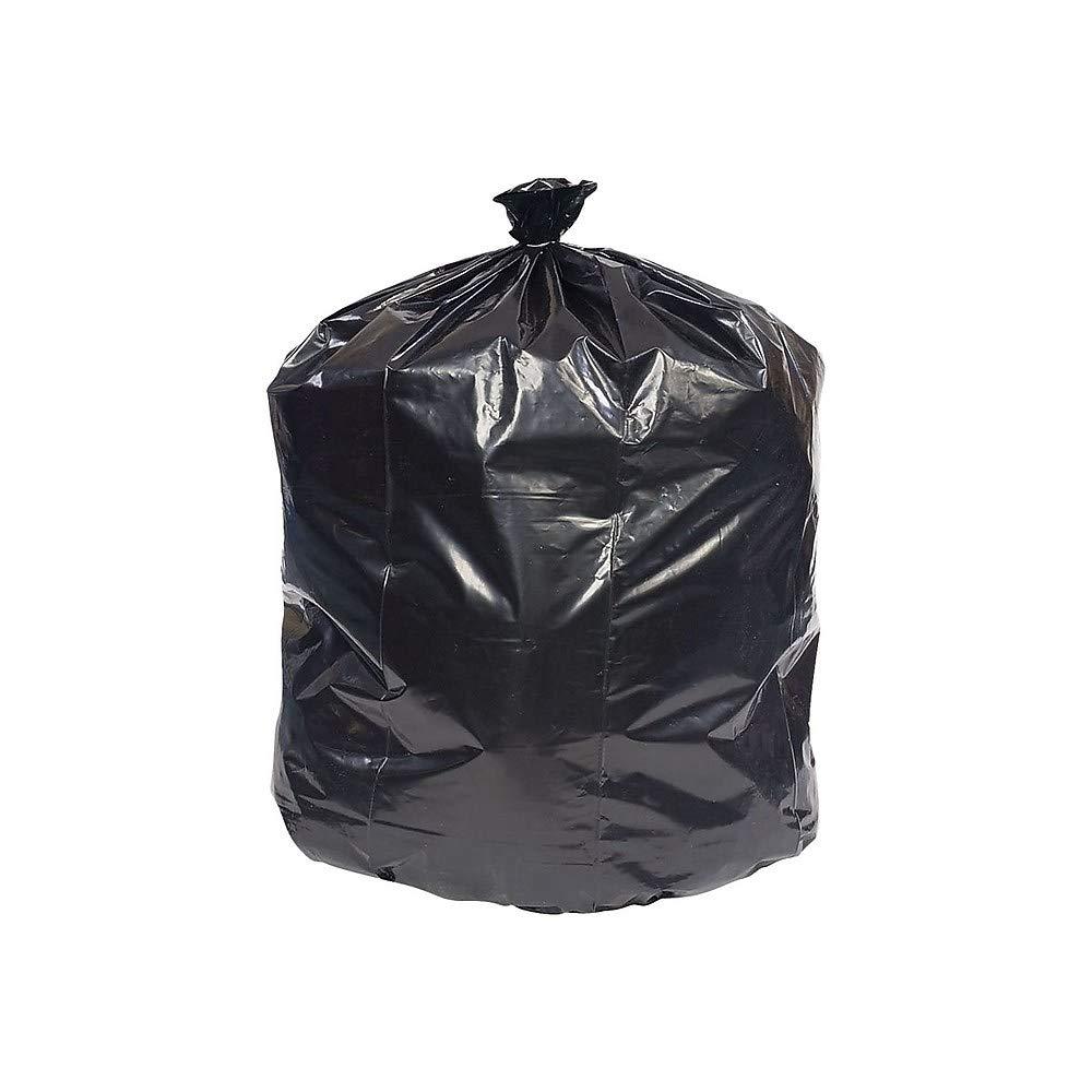Brighton 847245 Trash Bags 16-20 Gallon 24X32 Low Density 0.35 Mil Black 1000 Ct