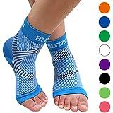 BLITZU Plantar Fasciitis Socks with Arch Support, Foot...