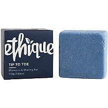 Ethique Eco-Friendly Solid Shampoo & Shaving Bar, Tip To Toe 3.88 oz