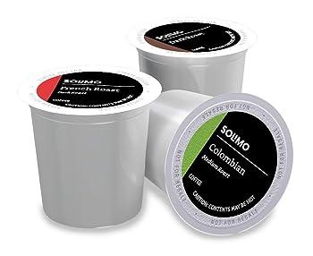 Solimo 100 Ct. Variety Pack Medium And Dark Roast K-Cup Coffee