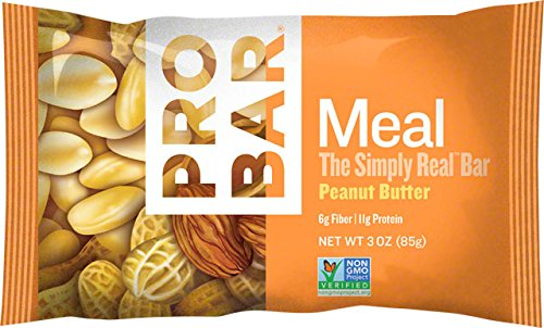 Pro Meal - ProBar Meal Bar: Peanut Butter, Box of 12