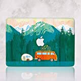 Like Wooden Hard Case for Macbook Pro 13 A1706 A1708 A1989 Love To Travel Mountains Laptop Case for Apple Mac Pro 13 inch Latest Release 2018 Durable shell Cover RD2125