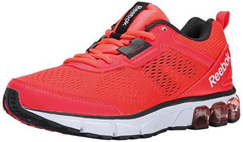 Reebok Womens Jet Dashride Running Shoe Neon Cherry/Gravel/White/Black