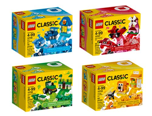 LEGO Classic Quad Pack 66554 Building Kit 6202241